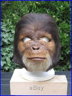 Rare Prop Original Chimp Face Mask Rick Baker Tim Burton Planet Of The Apes
