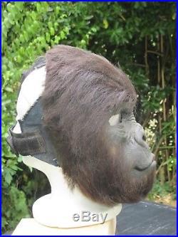Rare Prop Original Gorilla Face Mask Rick Baker Tim Burton Planet Of The Apes
