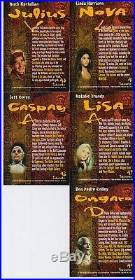 Rare Set Of 5 Inkworks The Planet Of The Apes Archives Autograph Cards 1999