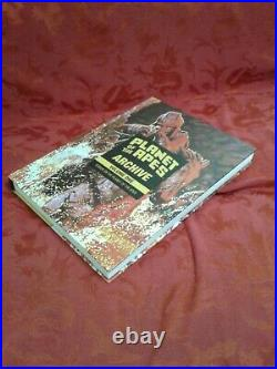 Rare vg+ terror on Planet of the Apes Archive Vol. 1 HC omnibus gift comic boom