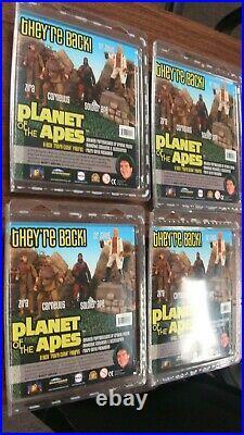 Retro Mego Planet of the Apes Figure Set Diamond Select Emce 2008 MOC