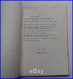 Return to the Planet of the Apes, 1975 TV Script Episode, Attack from the Clouds