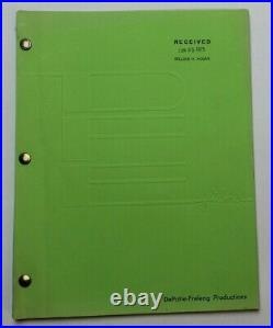 Return to the Planet of the Apes / Animated TV Series Script Lagoon of Peril