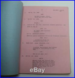 Return to the Planet of the Apes / Larry Spiegel 1975 TV Script, Animated Series