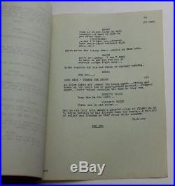 Robert W. Lenski / Planet of the Apes, 1974 Original TV Script, Tomorrow's Tide