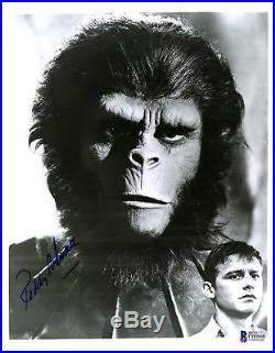 Roddy McDowall Autographed 8 x 10 Planet of the Apes Photograph -BAS COA