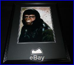 Roddy McDowall Signed Framed 16x20 Poster Photo Display JSA Planet of the Apes