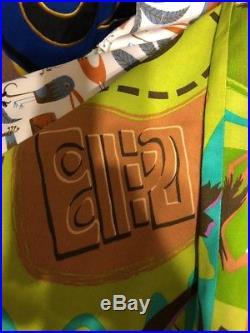 SHAG Josh Agle Planet of the Apes or Chimpanzee Aloha Tiki Shirt New XL