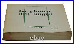 SIGNED La Planete Des Singes PIERRE BOULLE First Edition Planet of the Apes 1st
