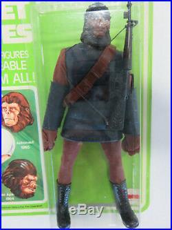 SOLDIER APE Planet of the Apes MEGO 8 Figure 1967 Vintage Figure MOC UNPUNCHED