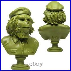 SSUR 3DRetro 14 Rebel Ape Bust Army Green Ltd100 Che Guevara Planet Of The Apes