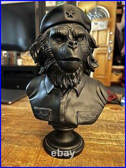 SSUR Rebel Ape Bust Black Che Guevara Planet Of The Apes