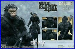 STAR ACE 39CM / 1/6 SCALE CEASAR WithGUN & HORSE F/WAR/F/THE/PLANET OF T/APES