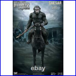 STAR ACE Toys SA9017 39cm Dawn of the Planet of the Apes Caesar Statue withSpear