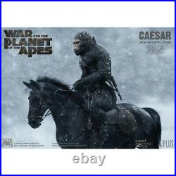STAR ACE Toys SA9018 39cm Dawn of the Planet of the Apes Caesar Statue with Rifle