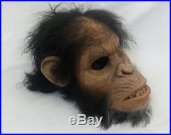Scary Movie Planet of the Apes Cesar Mask Prop withCOA