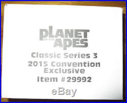 Sdcc 2015 Neca Planet Of The Apes Bundle 3 Pack 7 Figures Aldo Caesar Conquest