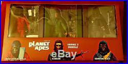 Sdcc 2015 Neca Planet Of The Apes Series 3 Pack 7 Figures Aldo Caesar Conquest