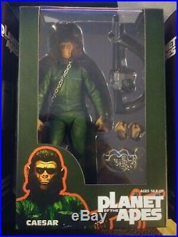 Sdcc 2015 Neca Planet Of The Apes Series 3 Set 7 Figures Aldo Caesar Conquest