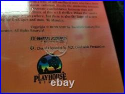 Sealed! Battle for Planet of the Apes Movie 1985 VHS Playhouse Video Watermark