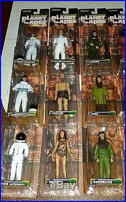Set of 18 Medicom Planet of the Apes 6 Figures from Japan