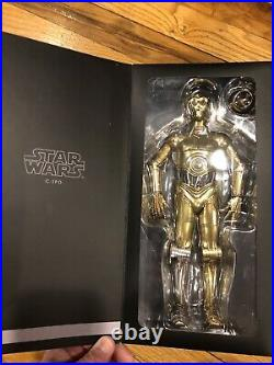 Sideshow 1/6 scale C3PO Exclusive and R2-D2 Deluxe Action Figures