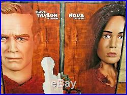 Sideshow 2005 1/6 Planet Of The Apes Slave Taylor & Nova Set New Sealed Set 12