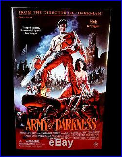Sideshow Army of Darkness Movie Ash 12 Action Figure Bruce Campbell 2002