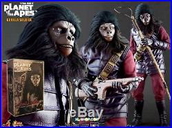 Sideshow Collectibles Hot Toys Gorilla Soldier Planet Of The Apes Enterprise New