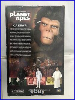 Sideshow Collectibles Planet of the Apes Caesar Action Figure 12 in VERY RARE