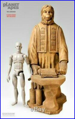 Sideshow Planet Of The Apes Lawgiver Statue #/750 Low New Sealed Shipper