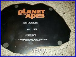 Sideshow Planet of The Apes The Lawgiver Statue 18 Limited Edition 16/750