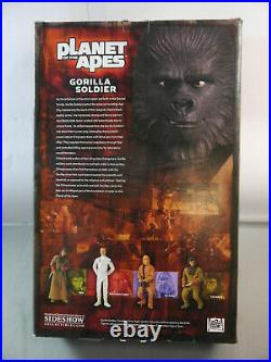 Sideshow Planet of the Apes Gorilla Soldier 16 / 30cm OVP LAD