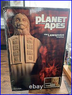 Sideshow Planet of the Apes Lawgiver Statue 2005 SDCC Blood Bleeding Exclusive