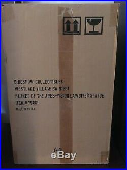 Sideshow Planet of the Apes Lawgiver Statue 2005 SDCC Exclusive Vision SEALED