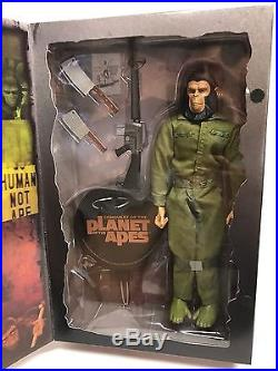 Sideshow Toys Planet of the Apes 12 Figure Caesar New in the Box 2004