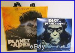 Signed Andy Serkis Rise of The Planet of the Apes Vinyl, Blu-Ray DVD Bundle #285