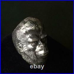 Silver Ring Planet of the Apes Cornelius Super Rare Item Japan