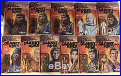 Super7 Planet Of The Apes ReAction Wave 1 & 2 Complete Set Of 11 Figures