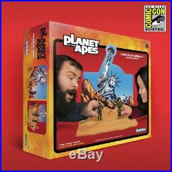 Super7 Planet of the Apes Statue of Liberty ReAction Playset 2018 SDCC Debut