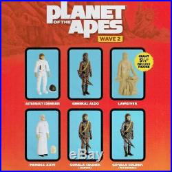Super7 ReAction Figures Planet Of The Apes Wave 2 Pre Order