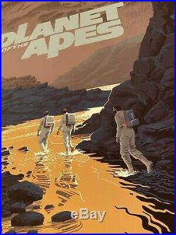 THE PLANET OF THE APES REGULAR PRINT by Laurent Durieux MONDO DURIEUX PT 2