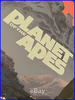 THE PLANET OF THE APES VARIANT PRINT by Laurent Durieux MONDO DURIEUX PT 2