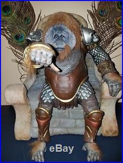 The Emperor original Statue Figure Planet of the Apes Pro Custom 1 of kind