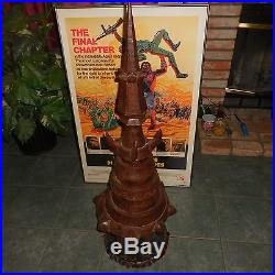 Tim Burton Movie Prop Planet Of The Apes 2001 Final Ape Army Chimney Tents +auto