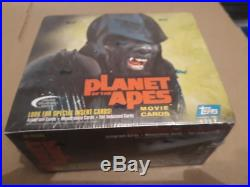 Topps Planet of the Apes movie Trading card BOX (Autograph & Memorabilia cards)