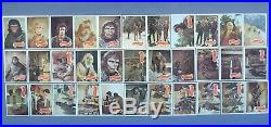 Topps UK Full Set of Planet of the Apes(TV Series) 1974 In Mint Condition