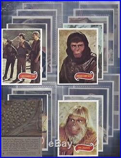 Topps-full Set- Planet Of The Apes (x66 Cards) Exc