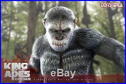 Toys Era 1/6 Caesar Planet of the Apes Statue King of the Ape Movie Figure Model