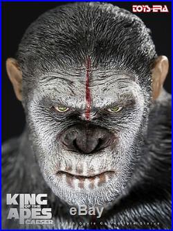 Toys Era 1/6 Rise of the Planet of the Apes King Caesar Statue Model Collection